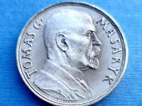 AR medaila TGM k 85. Narodeninám , 1935 - O. Španiel , matná