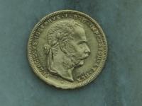 8 Zlatnik 1887 bz