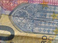 20 eurova bankovka s otlackom