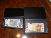 Vreckový album na bankovky ( aj na 0 euro suvenír ).