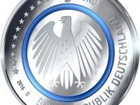 5 x 5 Eur 2016 Nemecko Proof kvalita, ADFGJ