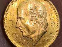 10 Pesos 1959 Mexico