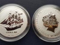 Cook Island Bounty 1oz 2020 investicne striebro