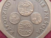 Medaila 1984 SNS Prešov - obliehanie Prešova 1704 Rákoczym