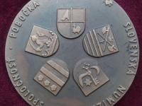 Medaila 1981 SNS Prešov - 150 výročie sedliackého povstania (Bodi)
