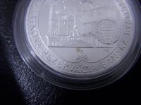 Slovenské strieborné zberateľské mince (šesť kusov) s drobnými vadami za cenu striebra.