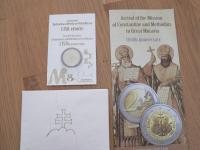 2€ proof 2013 Konstantin a Metod