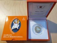 2€  Vatikán 2016 - Svätý rok milosrdenstva - Proof
