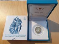 2€ Vatikán 2019 - Sixtínska kaplnka - Proof