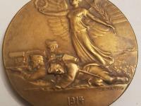 Rakúsko-Uhorsko 1914 medajla v etui