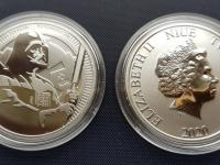 Niue Star Wars Darth Vader 1oz 2020 investicne striebro