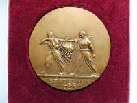 Medaila Bratislava-vinobranie, 1931