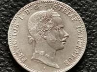 1/4 zlatník 1857 A