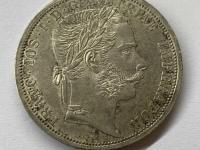 Vzácny 2 zlatnik 1866 A - krásny stav