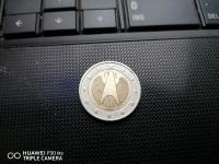 Oceňiť mincu nemecku dvojeurovku