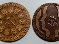 Medaile/plakety Bratislava