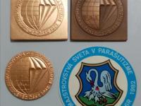 Medaile/plakety  rôzne