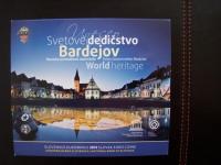 Sada obehových euromincí UNESCO Bardejov 2014 v bk kvalite.