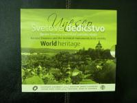 Sada obehových euromincí UNESCO Banská Štiavnica 2013 v bk kvalite.