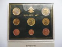 Sada Vatikán 2005 Ján Pavol II.