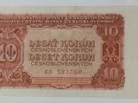 10 korún 1953