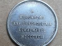 1892 KB Korunovačný žetón FJI