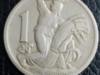 1 koruny 1922-1938