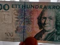 100 kronor Carl von Line