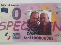 0 eurosuvenir specimen