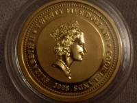 ponuknite za zlatu mincu  Cookove ostrovy