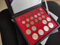 Slovenský Štát kompletná sada mincí v krásnom stave