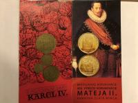 5000 SK Matej II. alebo dukáty Karel IV. za 10000 SK Bimilénium