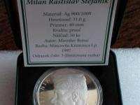 Ag medaila M.R.Štefánik (ukončenie 21.7. o 20.00 hod.)