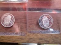 10 forint 1892+1880 Ag