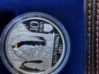 Strieborné zberateľské mince s drobnými nedostatkami za minimálne cenu striebra (6 kusov).