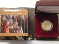 100 Euro/2017 - Svetové prírodné dedičstvo – Jaskyne Slovenského krasu