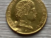 Dukat 1848 A , minca mala uško