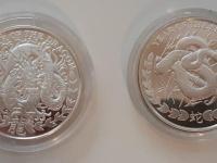Predám mince zo sériu Lunar Somália