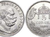 5 korona 1909KB