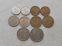Československo 1918 - 1993 ČSR ČSSR ČSFR obehové mince v obyčajnom stave