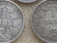 deutches 1 mark AG 1905A, 1907A