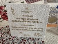 Cyril a Metod 2 Eur - vydanie NBS plus certifikát