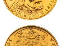 1 dukát Karel IV. 1978