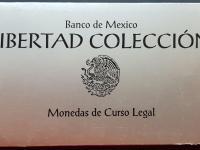 Mexiko Libertad 1992 sada investicnych minci striebro