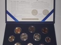 Sady mincí BU aj UNC