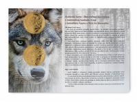 Autorská karta 5€/2021 - včela medonosná č. 107, 108, 109, 110,