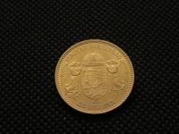 20 koruna Uherská ražba , Františka Josefa I