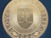 10 Ks z roku 1944 - Pribina - varianta bez krížika na kaplnke