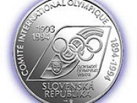 200 Sk k 100. výročiu založenia Medzinárodného olympijského výboru a prvej účasti SR na OH
