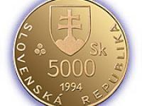 5 000 Sk k 1 100. výročiu úmrtia veľkomoravského panovníka Svätopluka